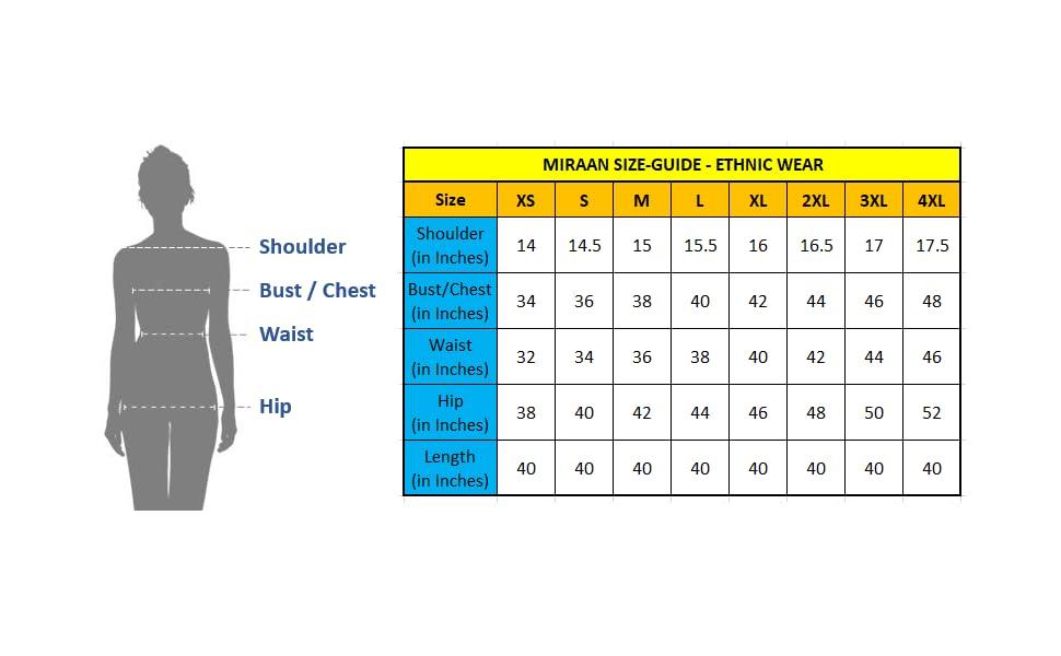 Salwar Size Chart - 03072021 V0.2