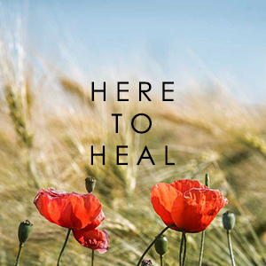 HERE TO HEAL POPPIES