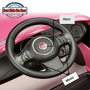 multi functional steering wheel
