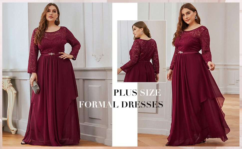 plus size evening dresses formal wedding guest dresses prom dresses with sleeves evening gowns
