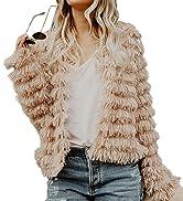 1A1334Faux fur coat