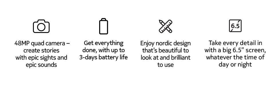 Nokia G20 - Feature List- Battery, Screen, Quad Camera, Design