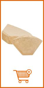 U02 White Coffee Filter Paper