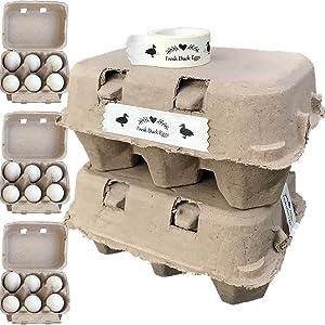 Jumbo Duck Egg Cartons