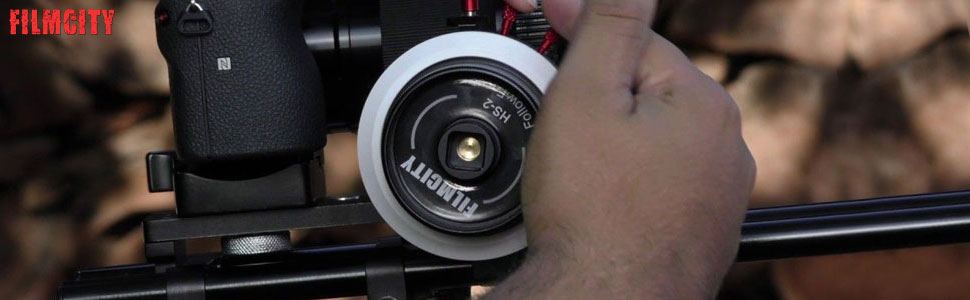 Filmcity HS-2 Follow Focus for DSLR Video Camera