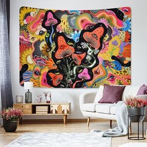 mushroom tapestry