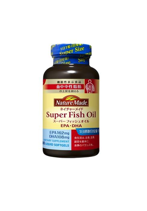 スーパーフィッシュオイル(EPA/DHA) 90粒