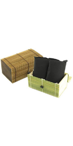 Charcoal absorber bag pouch decorative box