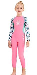 Girls full wetsuit