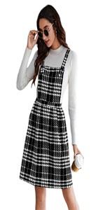 Verdusa Women's Overall Dress