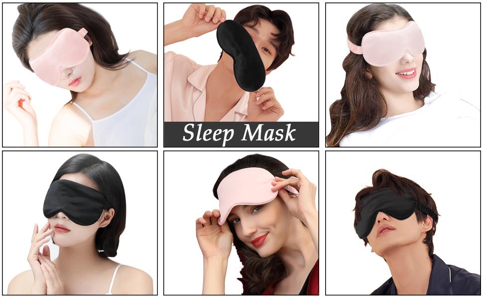 Sleeping mask, give you a peaceful and beautiful sleep experience