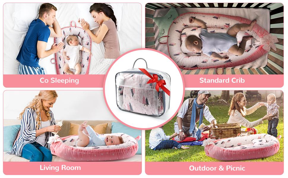 baby nest bed