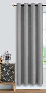 Grey Blackout Curtains