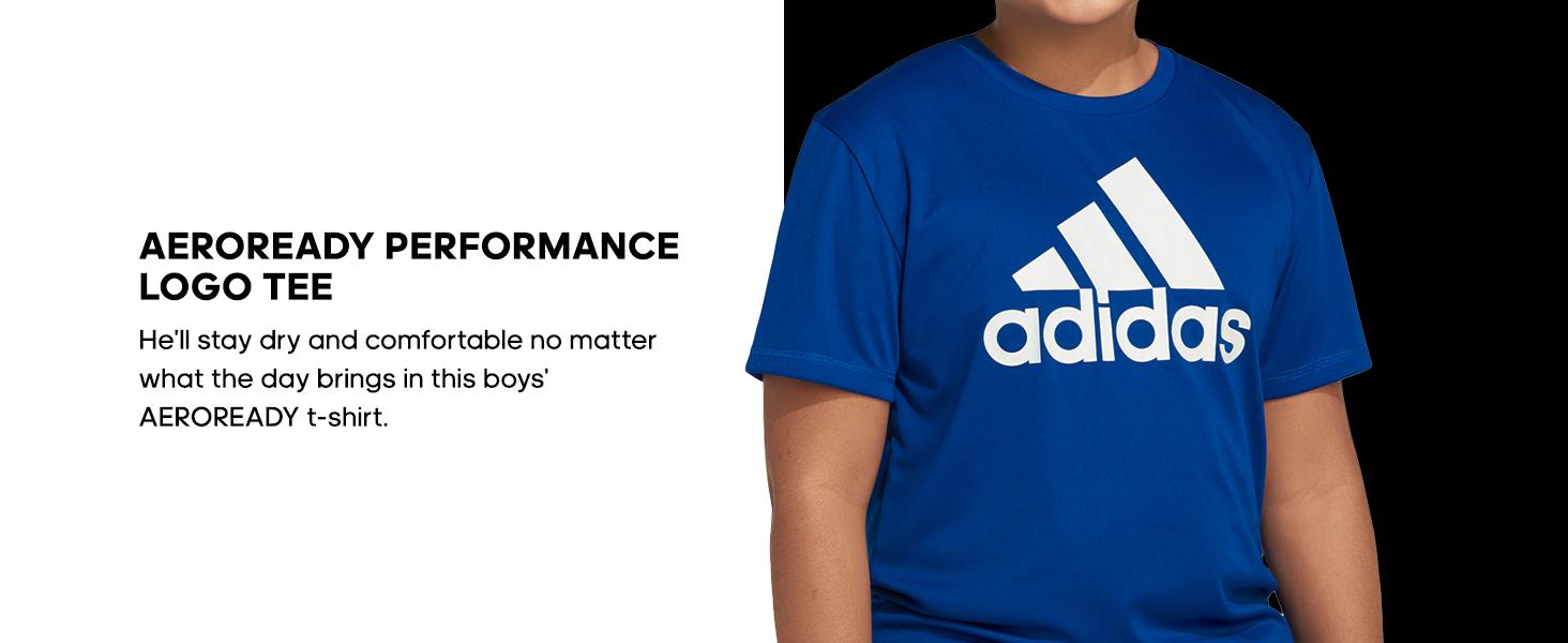 adidas AEROREADY Performance Logo Tee