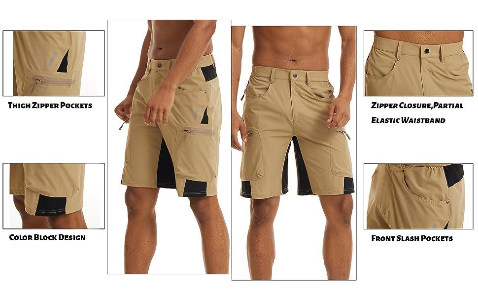 hiking shorts for men