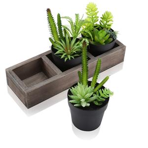 mini artificial plants