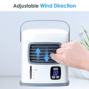 office room air cooling fan for hot day with instant cold
