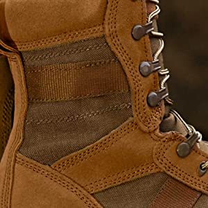 series 100 boot leather 1000D nylon uppercv