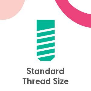Standard thread size