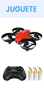 Potensic Mini Drone A20, Rojo