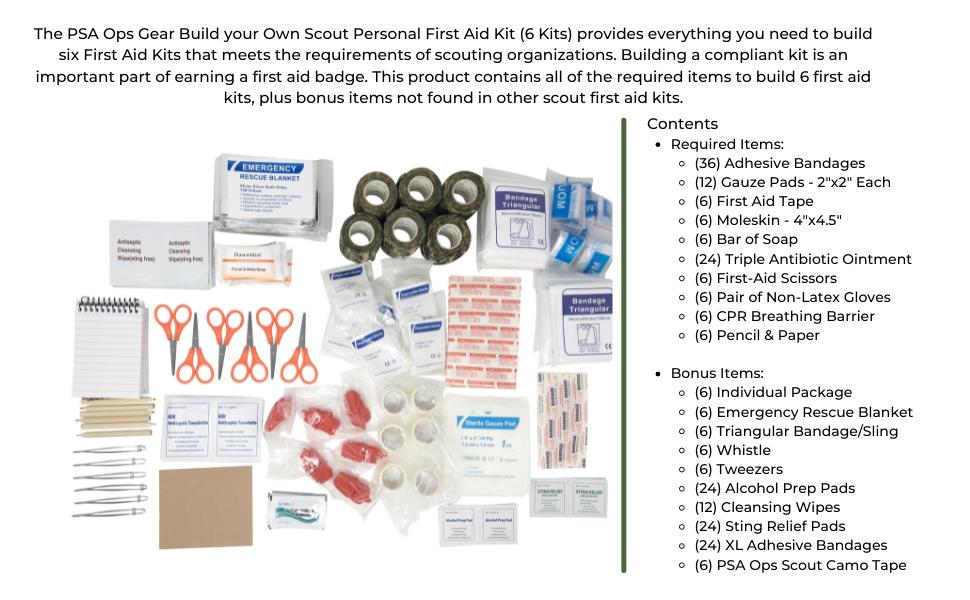Build 6 Scouting Kits