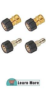 Pressure Washer Hose Adapter Sets