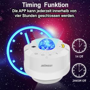 LED projektor zvjezdanog neba bijeli