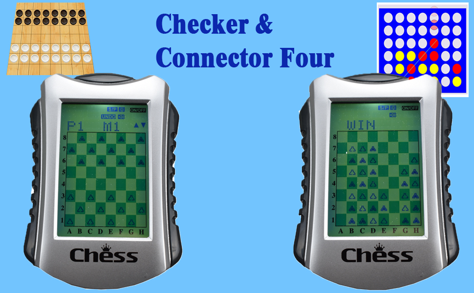 Lyght cherkers connector four game