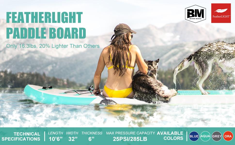 featherlight paddle board