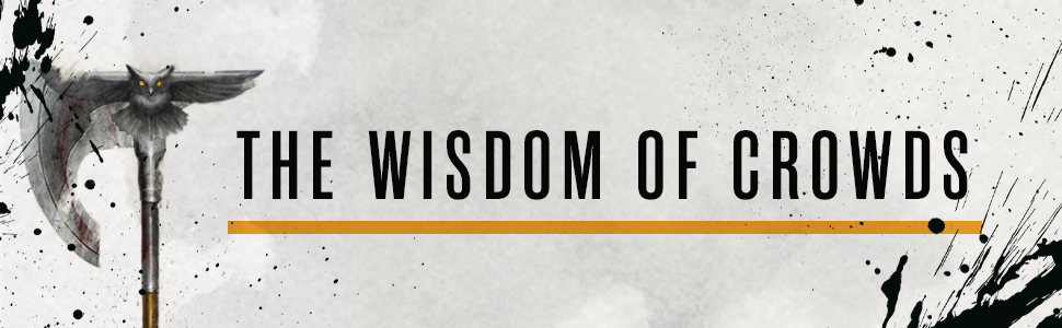 wisdom of crowds joe abercrombie