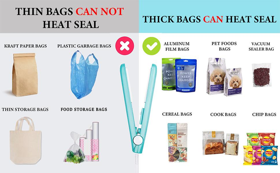 What Types Of Bags Can Use This Bag Sealer?
