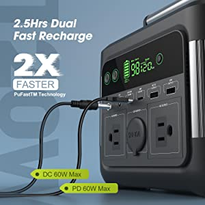 Dual Quick Recharge