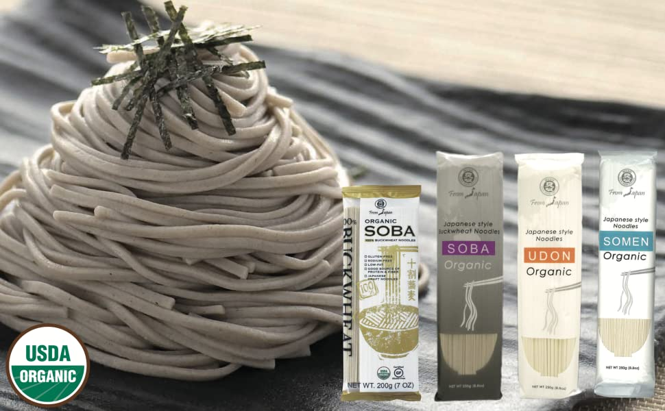 muso from Japan organic Japanese style buckwheat noodles