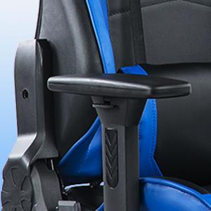 Adjustable upper and lower armrests