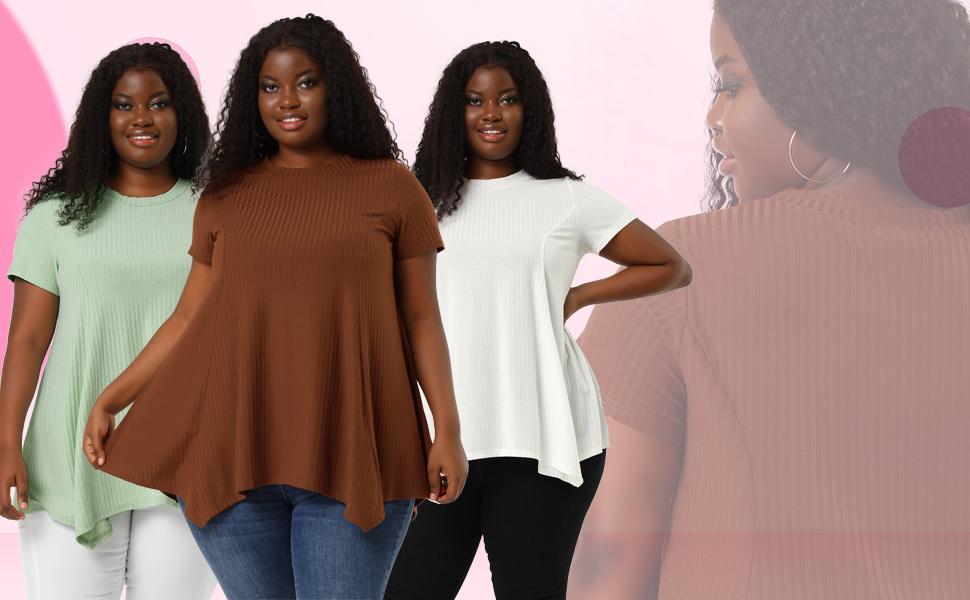 plus size t shirt for women
