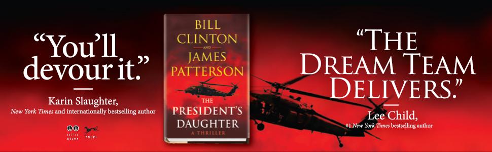 president's daughter, bill clinton, james patterson, thriller