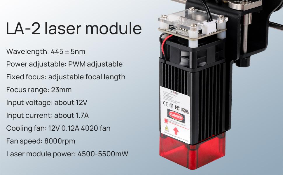 DEWALLIE Laser module