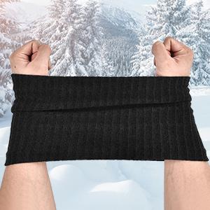 warm tube scarf
