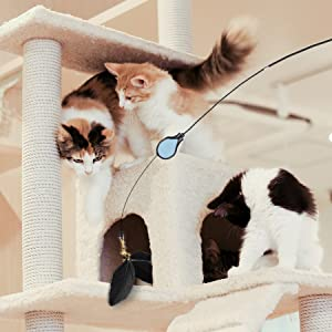 robotic pets for seniors stick cat toy butterfly toy for cats cat butterfly toy cat toy stick