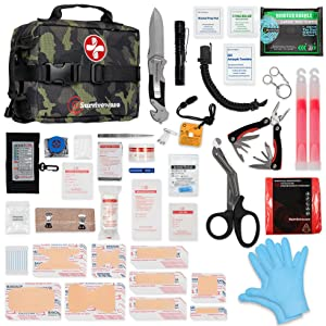 Survival First Aid Kit - Camo
