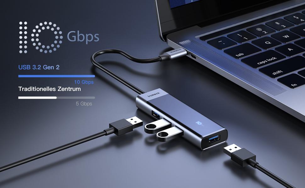 USB 3.2 gen 2 10Gbps