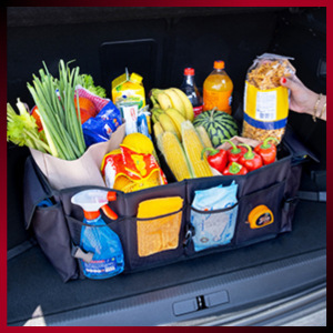 cargo storage for suv trunk car totes for organizing car collapsible box for car trunk