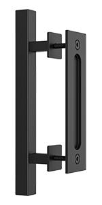12 inch square barn door handle