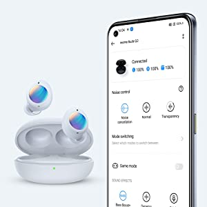 Customize your realme Buds Q2 with the realme Link App