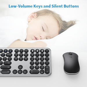 Low-Volume Keys and Silent Buttons