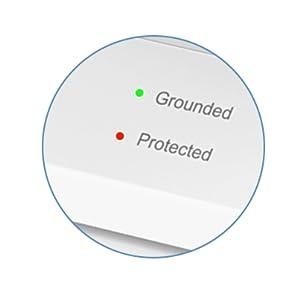 surge protector light