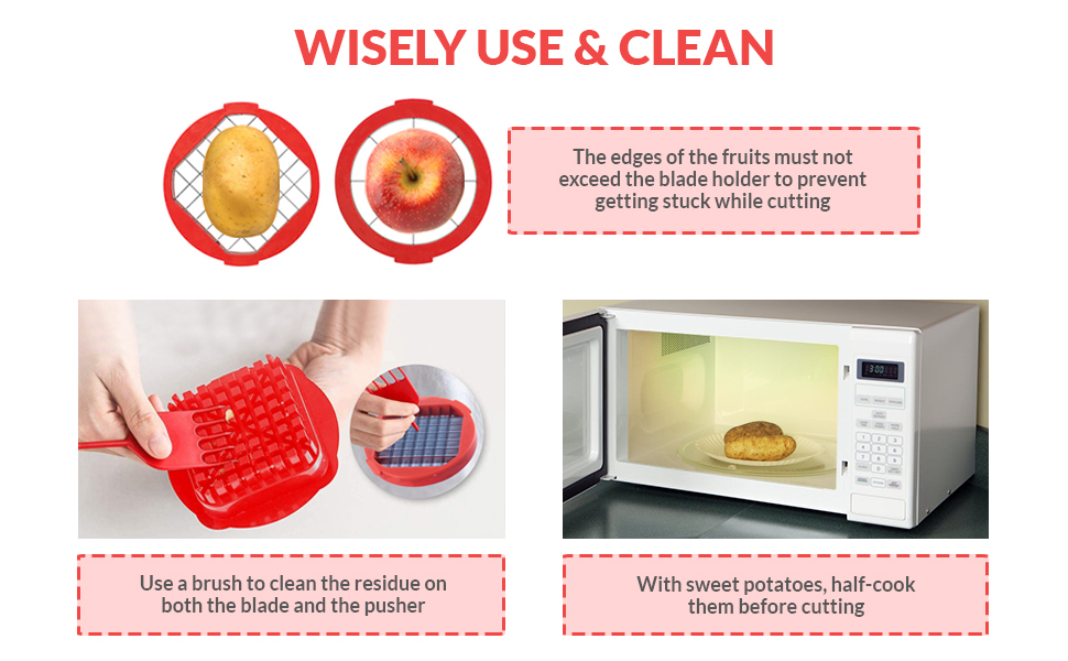 Wisely use amp; clean