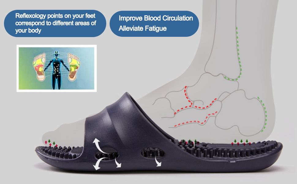 japanese reflexology slippers