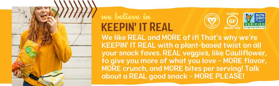 We Believe in Keepin' It Real