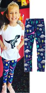 Girls Dinosaur legging
